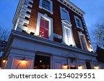 london  england   november 25... | Shutterstock . vector #1254029551