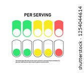 nutrition facts information... | Shutterstock .eps vector #1254044614