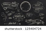 design elements label ... | Shutterstock .eps vector #125404724