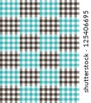 plaid vector pattern | Shutterstock .eps vector #125406695
