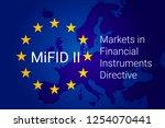 markets in financial... | Shutterstock . vector #1254070441