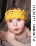 close up portrait of surprised... | Shutterstock . vector #125407619