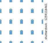 shutter blinds icon pattern... | Shutterstock .eps vector #1254116461