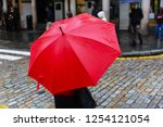 picture of a person with red...   Shutterstock . vector #1254121054