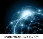 best internet concept of global ...   Shutterstock . vector #125417774