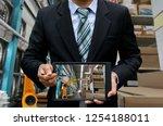 mechanical engineering robotics ...   Shutterstock . vector #1254188011