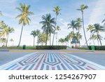 miami beach   florida  united... | Shutterstock . vector #1254267907
