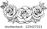 roses. vector | Shutterstock .eps vector #125427221