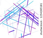 abstract isometric computer...   Shutterstock .eps vector #1254285181