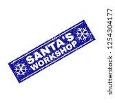 grunge rectangle santa's... | Shutterstock .eps vector #1254304177