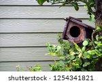 Small Bird's House On Tree...