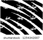 abstract hand drawn background... | Shutterstock .eps vector #1254342007
