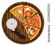 vector illustration logo for... | Shutterstock .eps vector #1254430351