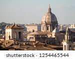 panorama in italy. dome | Shutterstock . vector #1254465544