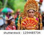 denpasar  bali island ... | Shutterstock . vector #1254485734