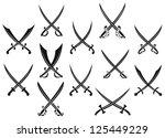 Medieval Swords And Sabres Set...