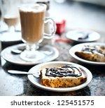 almendrado   ice cream...   Shutterstock . vector #125451575