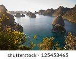 Limestone Islands In Wayag ...