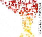 bubbles circle dots unique...   Shutterstock .eps vector #1254562564