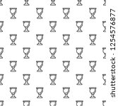 cup of wine pattern seamless... | Shutterstock .eps vector #1254576877
