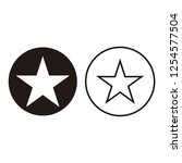 star icon vector. black star...