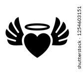 love symbol. valentine's day...   Shutterstock .eps vector #1254603151