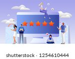 the best estimate of... | Shutterstock .eps vector #1254610444