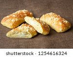 fresh pastry with cottage... | Shutterstock . vector #1254616324