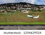 funchal  madeira   november 19  ... | Shutterstock . vector #1254629524
