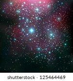cosmic background   vector...