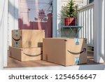 barrington  il usa 12 08 2018   ... | Shutterstock . vector #1254656647