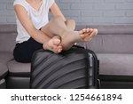 varicose veins prevention ...   Shutterstock . vector #1254661894