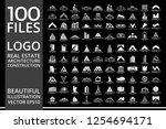 mega set and big group  real... | Shutterstock .eps vector #1254694171