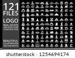mega set and big group  real... | Shutterstock .eps vector #1254694174