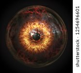 A Scary Devils Eyeball 3d...