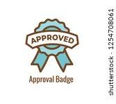 drug testing   safety approval... | Shutterstock .eps vector #1254708061