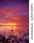 411-02 Presque Isle Sunrise over Lake Huron, Presque Isle State Park Lake Huron shore, Presque Isle County, Michigan