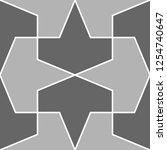 ethnic ornament. folk wallpaper.... | Shutterstock .eps vector #1254740647