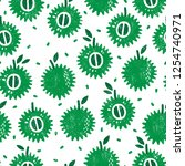 seamless pattern with fruits....   Shutterstock .eps vector #1254740971