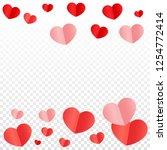 Hearts Confetti Falling...