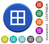all borders round color beveled ... | Shutterstock .eps vector #1254790834