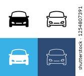 car icon set | Shutterstock .eps vector #1254807391