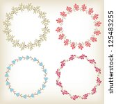 Collection Floral Frames....