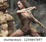 Swift Female Wood Elf Warrior...