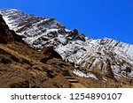 leh ladakh india april 11  ...   Shutterstock . vector #1254890107