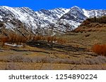 leh ladakh india april 11  ...   Shutterstock . vector #1254890224