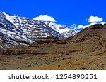 leh ladakh india april 11  ...   Shutterstock . vector #1254890251