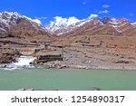 leh ladakh india april 11  ...   Shutterstock . vector #1254890317