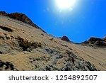 leh ladakh india april 11  ...   Shutterstock . vector #1254892507