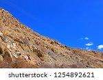 leh ladakh india april 11  ...   Shutterstock . vector #1254892621